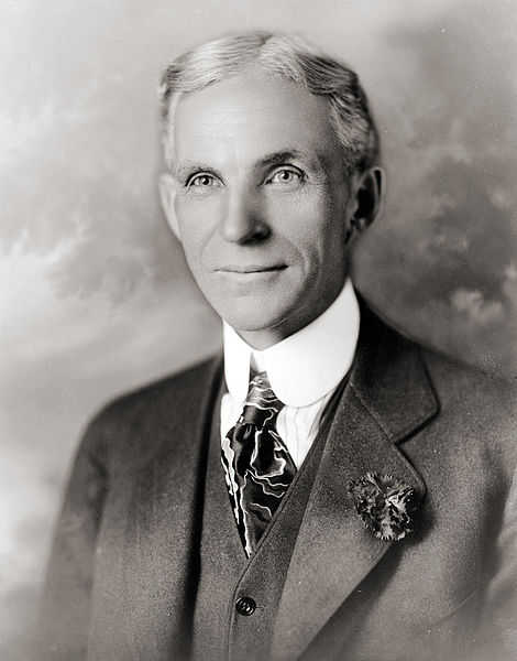 Classic Aryan Henry Ford: Wikimedia Commons