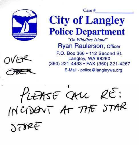 Langley police officer Ryan Raulerson