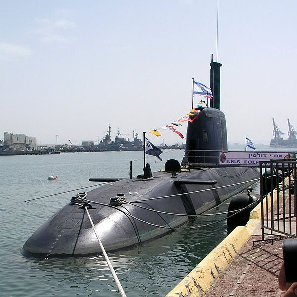 German Built Dolphin-class Submarines for Israel