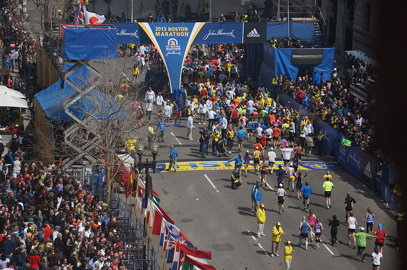 Boston Marathon - Image: Wikimedia Commons