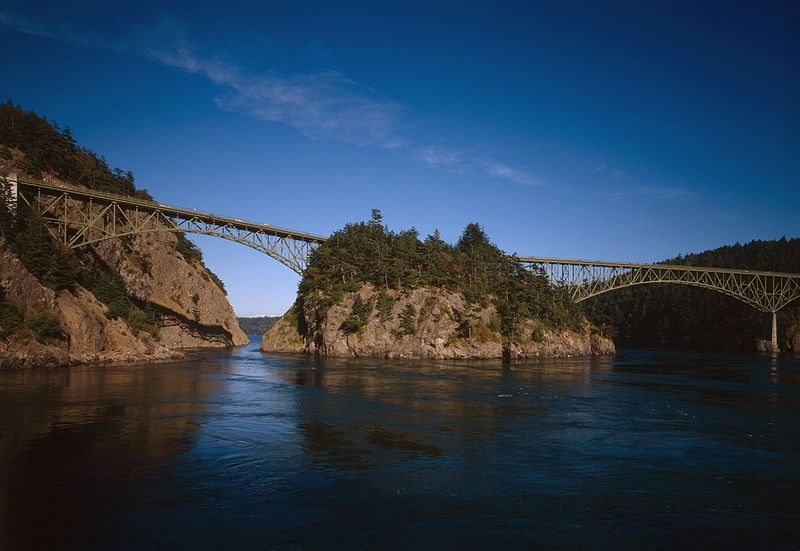 Deception Pass Whidbey Island - Wiki Image
