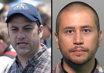Jimmy Kimmel and George Zimmerman