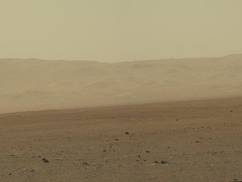 Mars' Landscape