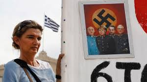 Greece protests Germany