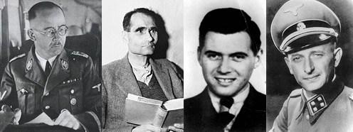 Crypto Jews Himmler, Hess, Mengele and Eichmann