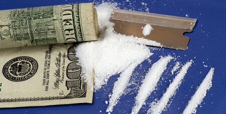bigstockphoto_Cocaine_And_Money_97665