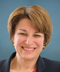 Sen. Amy Klobuchar Senator from Minnesota, Democrat