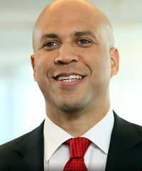 Sen. Cory Booker Senator from New Jersey, Democrat (half Jew)