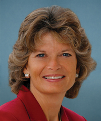 Sen. Lisa Murkowski Senator from Alaska, Republican (half Jew)