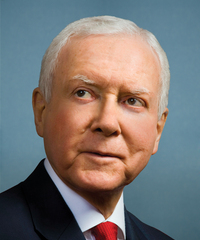 Sen. Orrin Hatch Senator from Utah, Republican