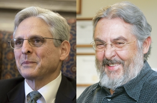 Jews Judge Merrick Garland and family Attorney Leon Kos