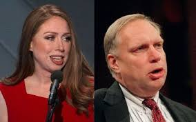 Jew Webster 'lower lip' Hubbell and daughter Chelsea