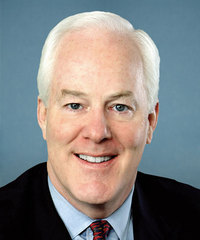 Sen. John Cornyn Senate Majority Whip Senator from Texas, Republican