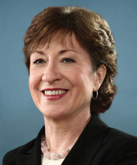 Sen. Susan Collins Senator from Maine, Republican